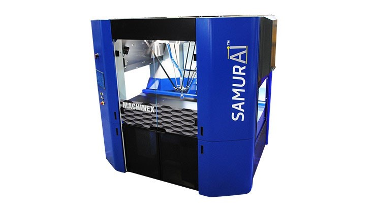Machinex displays robotic sorter at WasteExpo and IFAT