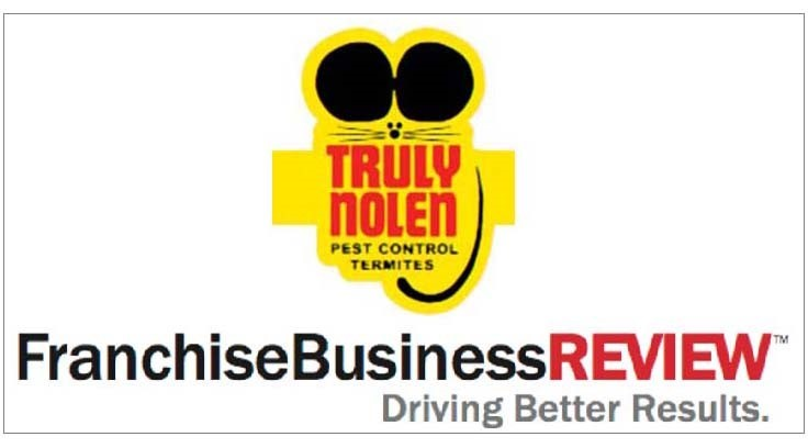 Truly Nolen Recognized by Franchise Business Review