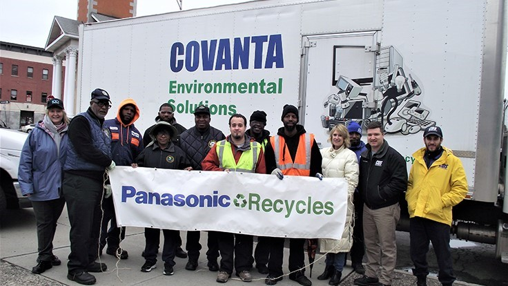 Covanta and partners collect nearly four tons of e-scrap at event
