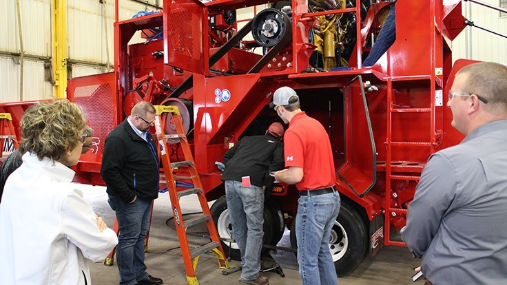 Rotochopper hosts Central Minnesota Manufacturers Association meeting