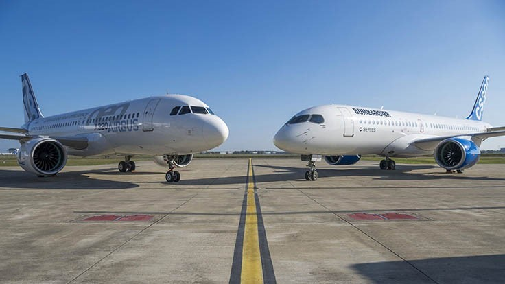 Airbus, Bombardier C Series partnership takes effect July 1, 2018