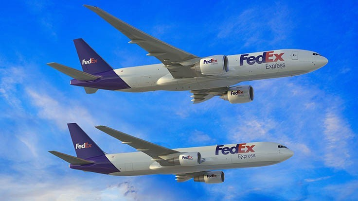 FedEx Express orders 24 medium and large Boeing freighters
