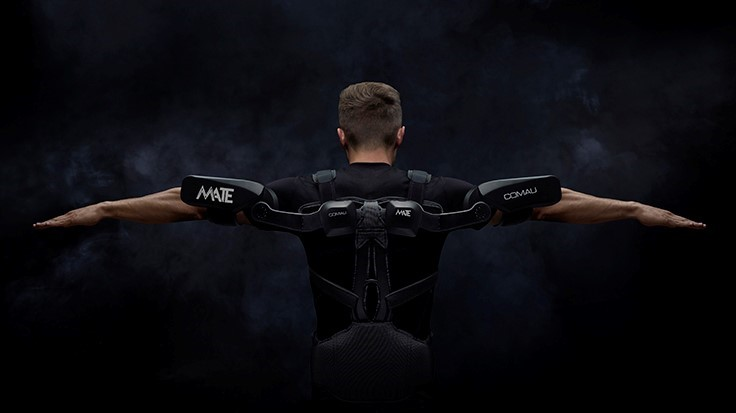 Compact, lightweight wearable exoskeleton