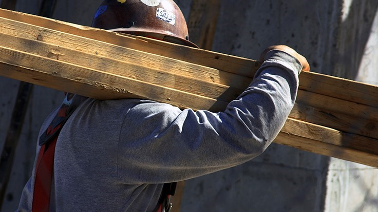 Construction unemployment rates down year over year in 45 states