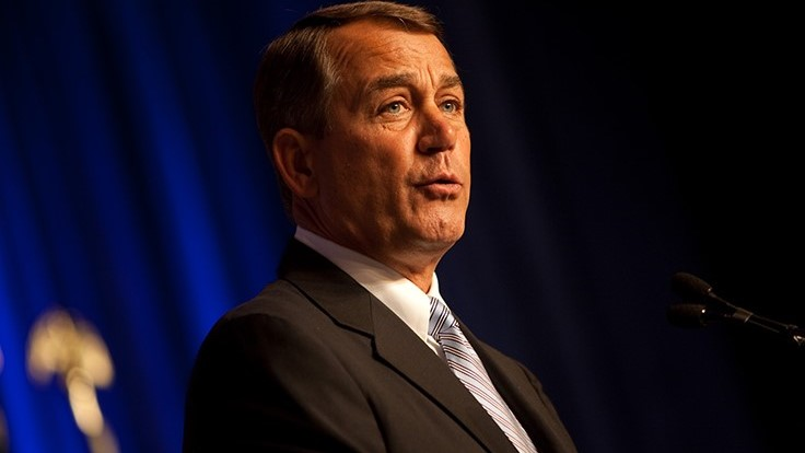 Former Speaker John Boehner Says Federal Government Should Not Interfere in Recreational Marijuana Decisions