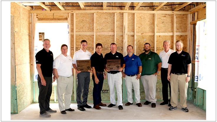 Nisus Commemorates Two Millionth Home Pretreated with Bora-Care