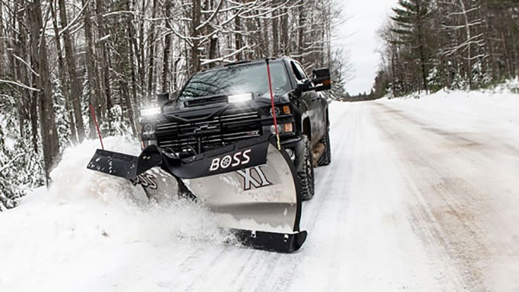 BOSS launches new plows and snow removal tools