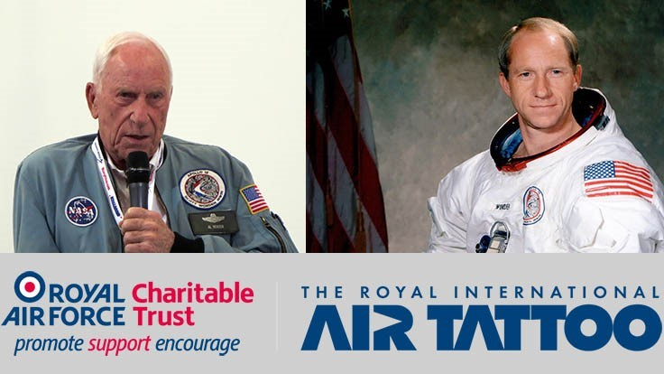 Apollo astronaut to promote STEM education at Royal Int'l Air Tattoo