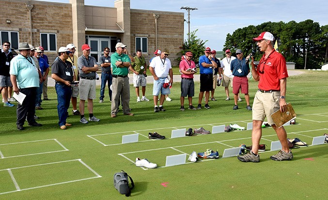 Sole searching: Turfgrass researchers seek least damaging golf shoes