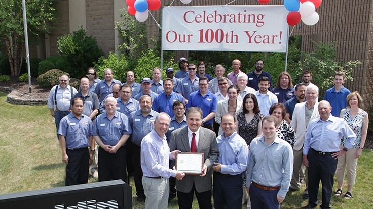Franklin Miller honored for 100th anniversary