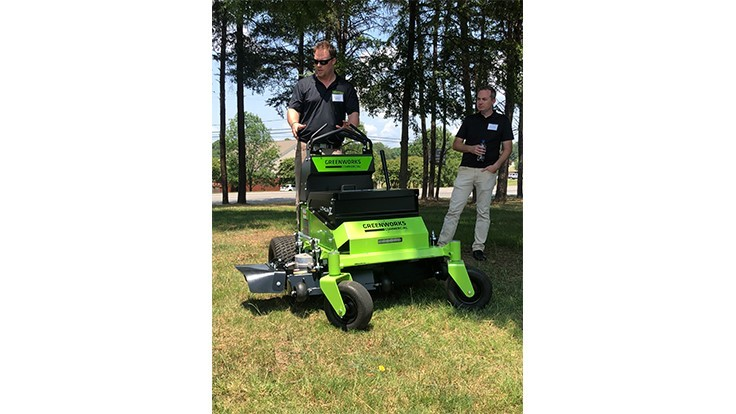 Greenworks launches new mowers