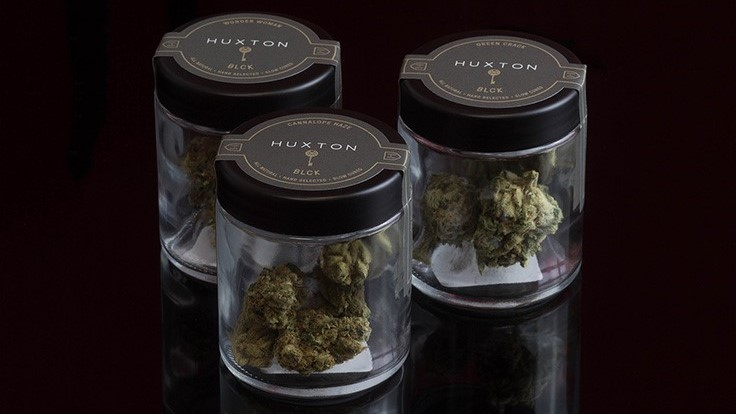 Huxton Introduces Glass Barrel Slow-Cured Cannabis Flower Line