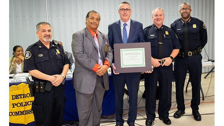 Kimmel employee honored by Detroit Police Department