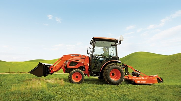 Ways to use compact tractors