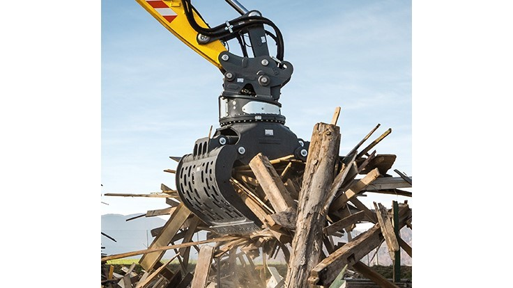 Liebherr boasts of attachment options