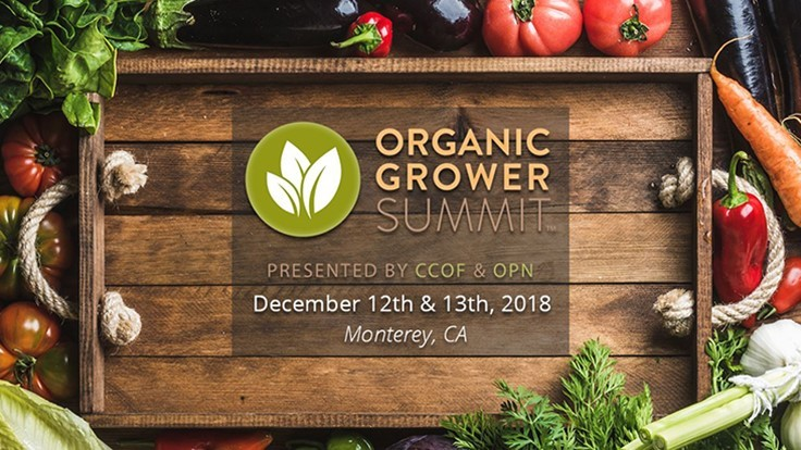 Organic Grower Summit Announces First of Two Education Intensive Sessions