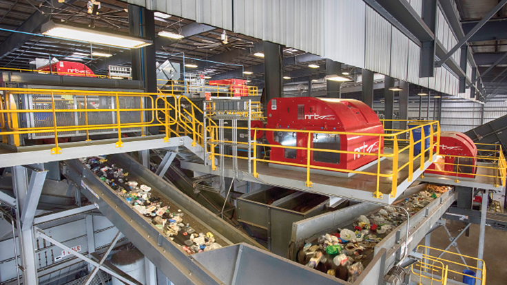 Penn Waste retrofits MRF for today's recycling climate