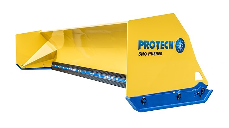 Pro-Tech Unveils Fusion Edge Sno Pusher