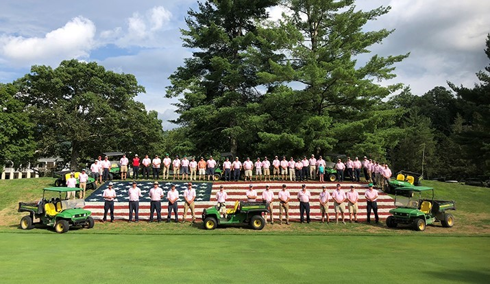 Slideshow: An Almost Heaven (and patriotic) week on the PGA Tour