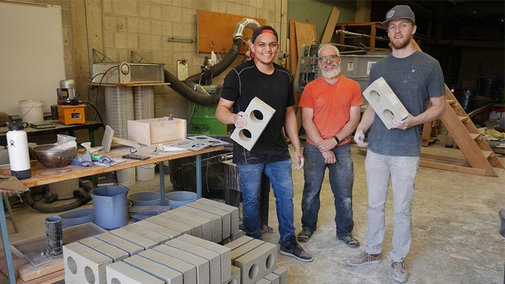 Washington State University researchers develop bricks made of C&D debris