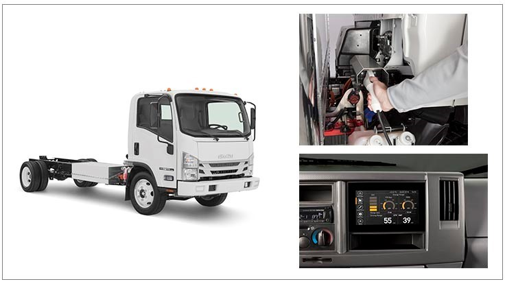 Isuzu Launches All-Electric Truck