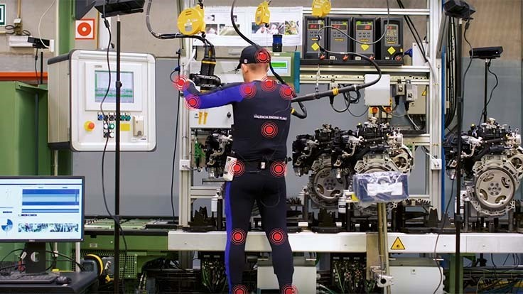 Ford uses video tracking to improve worker ergonomics (Video)