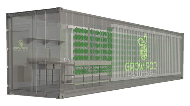 United Opportunities announces lease-back program for its Grow Pods