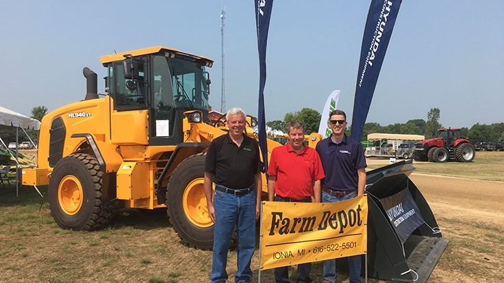 Hyundai Construction Equipment Americas adds Michigan dealer to network