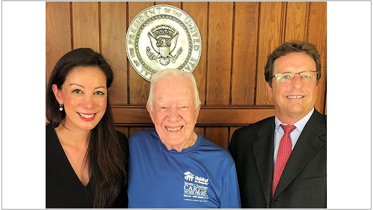 Former President Carter Recognizes BASF for Guinea Worm Disease Eradication Efforts