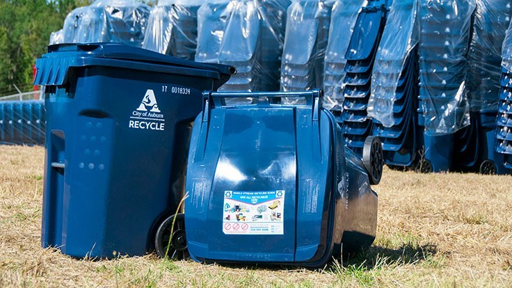 Alabama city transitions to single-stream recycling