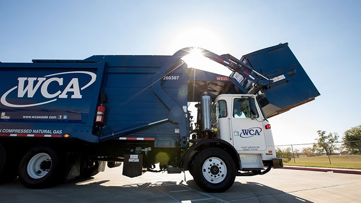 WCA acquires Sunshine Recycling Inc.