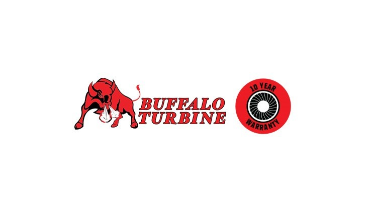 Buffalo Turbine implements 10-year warranty