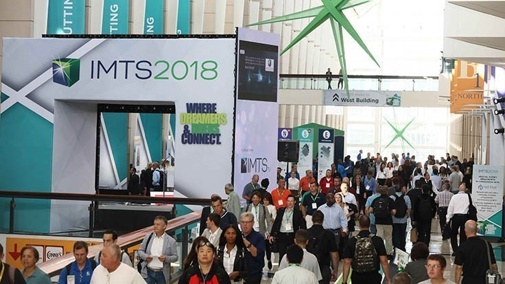 Record numbers for IMTS 2018
