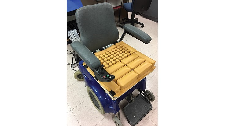 Technology for smart seat cushion, adaptable prosthetics