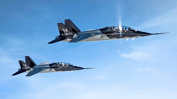Boeing wins U.S. Air Force T-X pilot training program contract