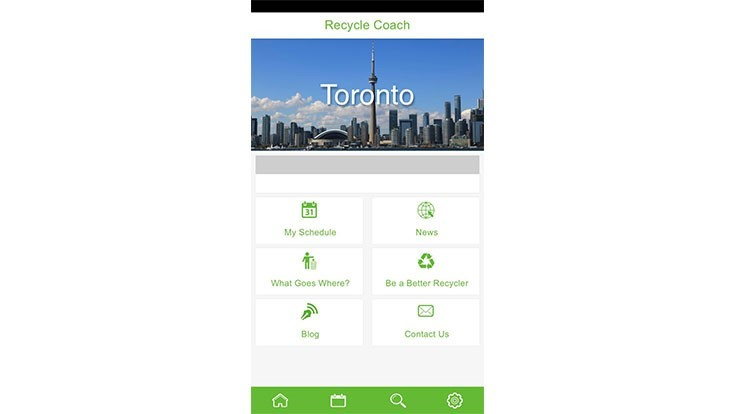 Recycling app connects residents with waste collectors