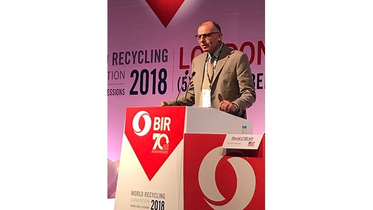 BIR World Recycling Convention Round-Table Sessions: Disputes disrupt trade