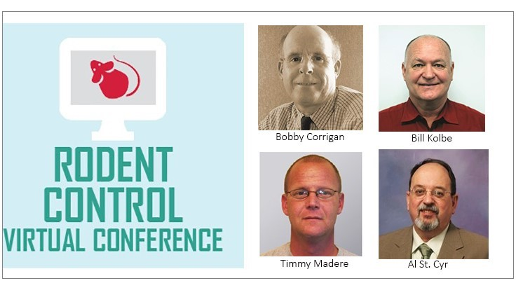 PCT Rodent Control Virtual Conference is Nov. 28