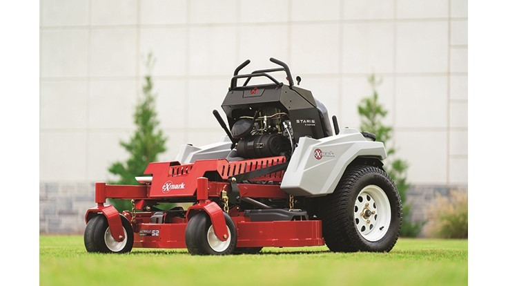 Exmark introduces new stand-on riding mower