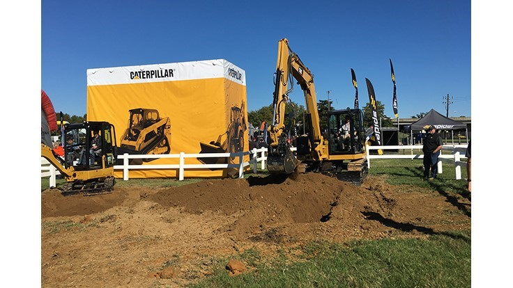 Caterpillar unveils new line of mini excavators