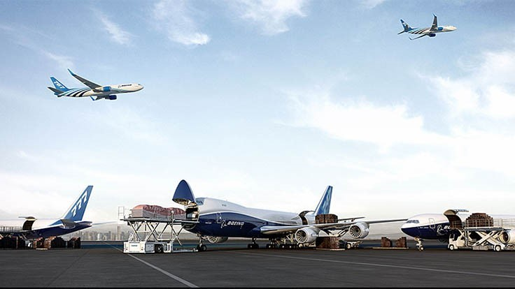 Boeing forecasts air cargo traffic will double in 20 years