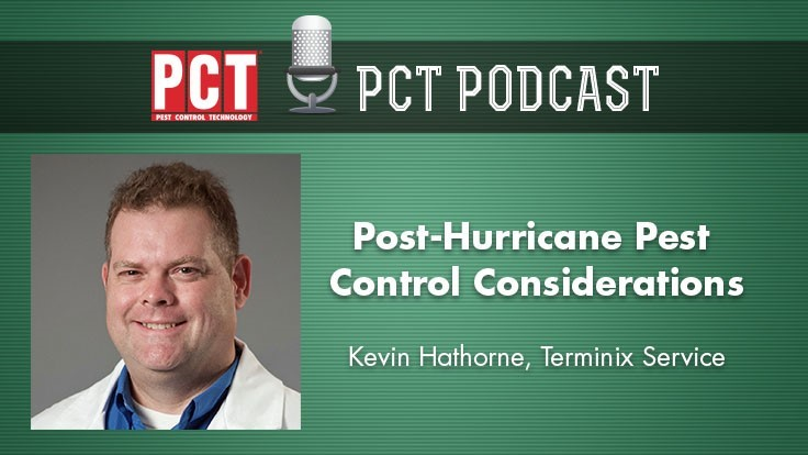 Podcast: Pest Issues in Post-Hurricane Florence Areas