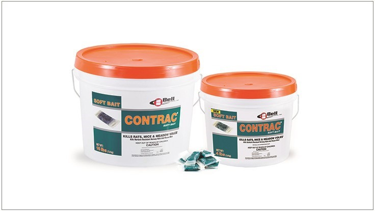 Contrac Soft Bait in 4 Pound Pails Available in U.S. Market