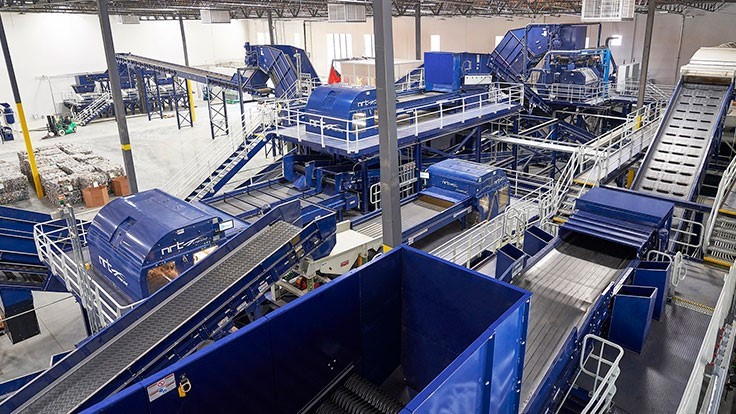 rPlanet Earth opens plastics recovery, recycling plant