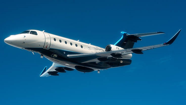Embraer introduces Praetor business jets