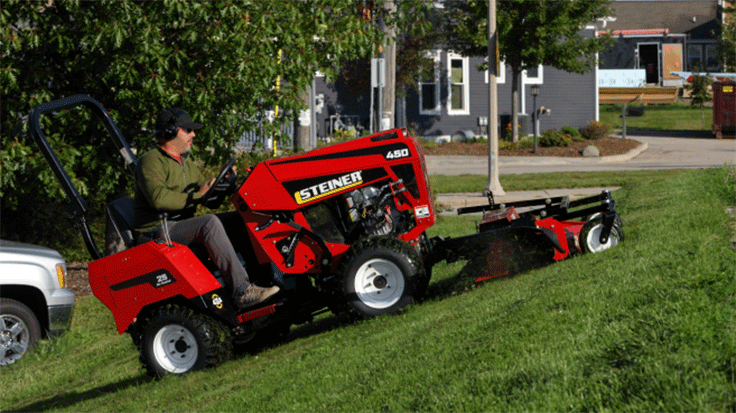 Steiner introduces newest tractor model