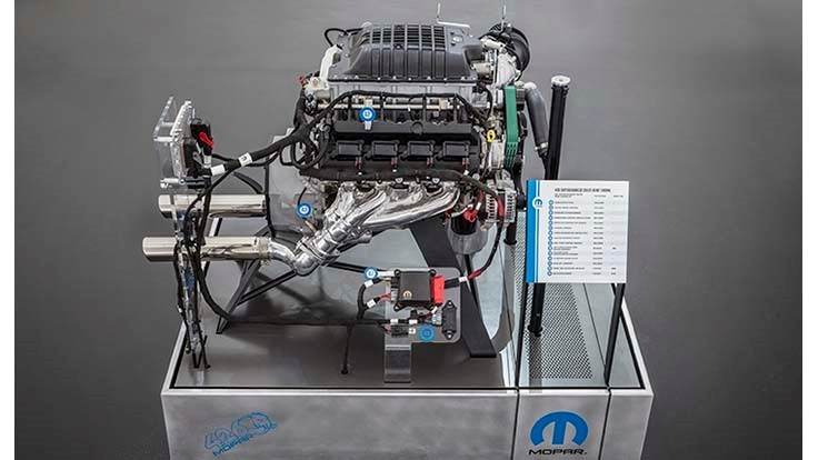 FCA launches 1,000hp Hellephant crate engine for speed enthusiasts
