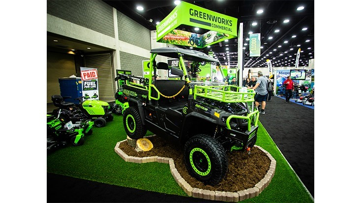 Greenworks Commercial introduces fleet of lithium ion-powered OPE vehicles