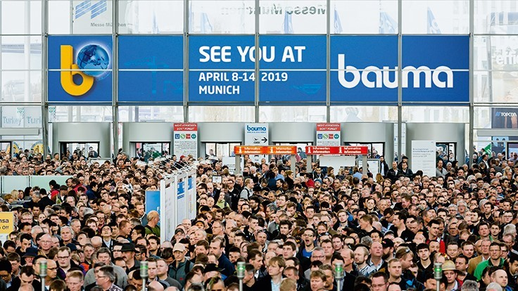 Bauma announces record exhibition numbers for 2019