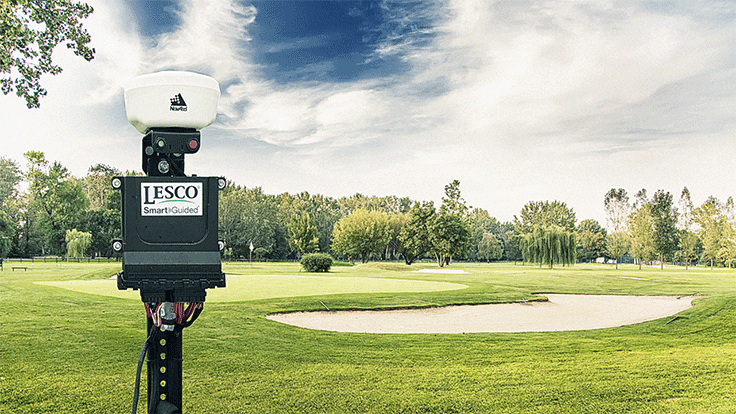 LESCO Smart Guided precision spray system now available